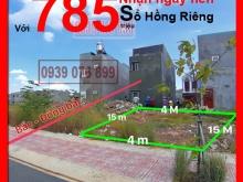 Với 785triệu nhận nền, Sổ hồng riêng, gần Vsip 1, tặng GPXD, XD tự do, Thuận an