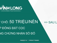Vĩnh Long New Town Khu Đô Thị trung tâm thành phố Kết Hợp giá chỉ 13tr/m2