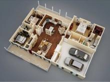 Cho thuê nhà mặt phố Vũ Tông Phan mặt tiền cực rộng, diện tích tới 280 m2.