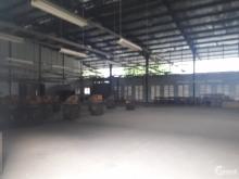 Cho thuê kho xưởng mặt tiền Quốc lộ 1A, Long Binh Tân thuộc địa phận TP. Biên Hò