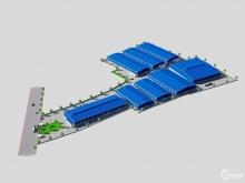 Nhà xưởng mặt tiền Quốc Lộ 13, DT đất 5,5ha, hiện tại đã có xưởng 5000m2