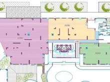 Cho thuê 1100m2 tầng 1 chân tòa nhà Chel Sea Park Trung Kính tiện làm kinh doanh