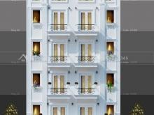 Cho thuê nhà mặt phố Ngụy Như Kon Tum mặt tiền 9m, 120m2 x 7 tầng.