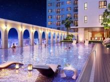 Căn hộ Saigon Mia, giá 3.5 tỷ căn 2 phòng ngủ, view hồ bơi, hướng Nam
