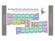 Căn hộ ký hiệu 19 HUD Building 04 NTT Nha Trang, tầng cao, chung cư giá tốt.