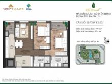 Bán chung cư The Emerald Mỹ Đình 77.7m2 giá 2.7 tỷ có bảo trì. LH: 0975661266