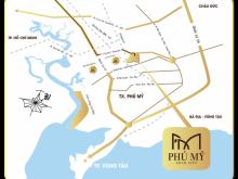 Phú Mỹ Gold City - điểm sáng trong làng BDS Phú Mỹ, đã có pháp lý 1/500