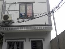 Nhà xây mới 3 tầng cạnh cầu Thanh Trì giáp Cự Khối, đường thông 4m ô tô vào nhà