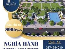Đất nền Nghĩa Hành - Điểm sáng đầu tư gần TTTP Quảng Ngãi. LH: 0374.954.010