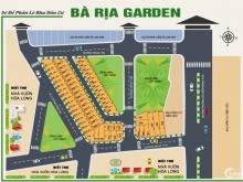 Đất nền trung tâm thành phố - Dự án Bà Rịa Garden - đất thổ cư 100% - SHR