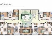 Bán căn góc 3PN diện tích 103m2 chung cư 259 Yên Hòa, đã có sổ đỏ. LH:0917878681