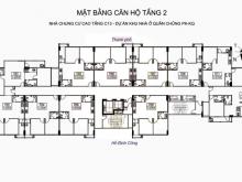 Bán căn hộ chung cư 02 phòng ngủ diện tích 62.0m2, dự án C13 bộ quốc phòng