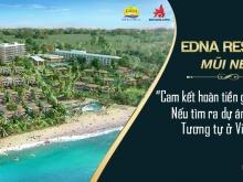 Căn hộ biển EDNA RESORT tại Mũi Né sở hữu lâu dài, cực kì sát biển. 0906061346