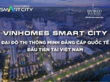 Với số vốn 280tr sở hữu ngay căn hộ tại Đại đô thị thông minh Vinhomes SmartCity
