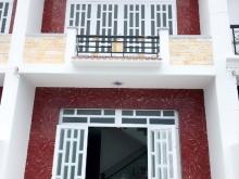 NGÂN HÀNG THANH LÝ NHÀ 1 trệt 1 lầu, sau Chợ Bình Chánh, NGay KCN Cầu Tràm