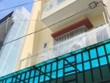 Nhà hẻm đường Miếu Bình Đông, Bình Tân. DT 4x9m, 3.5 tấm, nhà mới đẹp