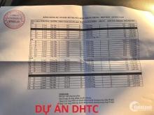 BÁN 3 LÔ NGOẠI GIAO GIÁ CHỈ 12TR/M2 KẾ BÊN DỰ ÁN DHTC (18TR/M2) LH: 0379.506.555