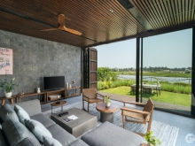 Biệt thự nghỉ dưỡng X2 Hội An, thiết kế độc đáo, ven sông Cổ Cò, sinh lời cao