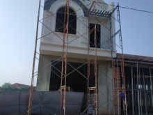 Nhà phố xây mới giá rẻ, 1 trệt 1 lầu, trong lòng KCN Mỹ Phước, sát chợ Bến Cát (