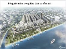 Nhà phố The Pearl Riverside trung tâm huyện Bến Lức, giá chỉ 2,2 tỷ/căn