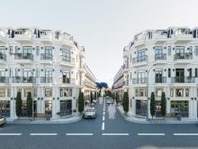 Bán dãy nhà phố đang xây sẵn 1 trệt 2 lầu 1 lửng 1 sân thượng giá 4,5 tỷ căn