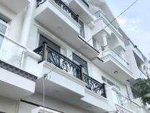Bán nhà đẹp 3 tầng (nở hậu) hẻm xe hơi 6m Lê Thị Chợ (hẻm 1333 HTP) Quận 7