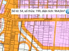 Đất bán mặt tiền đường Hùng Vương, Vĩnh Thanh, Nhơn Trạch, Đồng Nai.