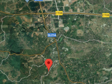 Lô nhà xưởng 1856m, 30.3m MT,trục chính Phú Mãn- Quốc Oai 4.6tr/m