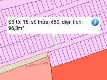 Bán lô đất 97m2, giấy tờ quân đội chuẩn bị ra sổ Xã Bình Hòa, Vĩnh Cửu