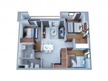 Căn hộ Bcons Garden có giá tất cả các căn, giá gốc từ CĐT Hotline: 0909747071