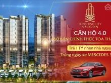 Booking 50tr Sunshine City SaiGon Q7,liền kề PMH,CK13%,trúng xe Mer 3ty