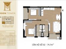 Siêu hot Tayho Residence căn 2 ngủ- city view- hồ tây. Giá sau VAT 3 tỷ 353 ful