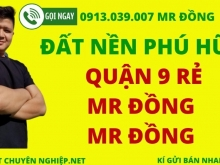 Kẹt quá quá kẹt - Bán 400m2 mặt tiền Kinh Doanh Nguyễn Duy Trinh Quận 9