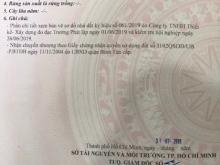 Do gia đình kẹt tiền đợt dịch, nên quyết định bán lô đất đang có giá ở Bình Tân