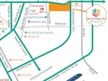 Khu Đô Thị Bàu Xéo nằm 2 mặt tiền đường QL1A và Đồi 61, giá 1,2 tỷ CK khủng