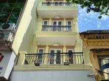 Cho thuê nhà mặt tiền phố Long biên 1  xây mới 5 tầng 1 tum cầu thang máy