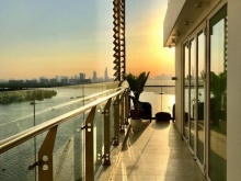 Duplex view panorama sông SG, full nội thất nhập cao cấp, bán 22 tỷ bao hết.