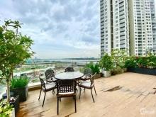 Bán Terrace 3PN view sông SG, DT 142 m2 sân vườn 79 m2, nội thất cao cấp, 18 tỷ.