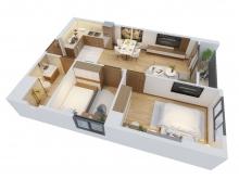 Bán chung cư cao cấp La Fortuna Vĩnh yên, giá chỉ 1,2 tỷ, ngay trung tâm TP