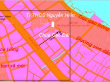 Bán nhanh lô đất full thổ cư mặt đường đầm Thuỷ triều 14m giá chỉ 4.7tr/m2 09895