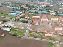 Đất mặt tiền quốc lộ 50, sổ riêng, giá đầu tư. Sài Gòn centre Gate