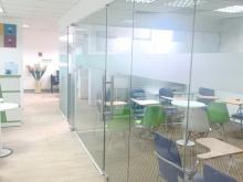 Cho thuê văn phòng 152 Phó Đức Chính-Cửa Bắc 12 tầng, Dt 125m2 giá 28tr đã set-u