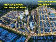 Bán 2 đất nền 90m2 /lô nhà phố GÍA TỐT CHÍNH CHỦ dự án Phúc An Garden Bình Dương