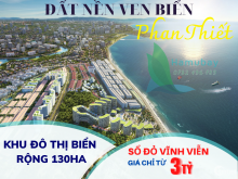 Lô mặt biển nội bộ chủ đầu tư dự án khu đô thị ngay trung tâm tp Phan Thiết