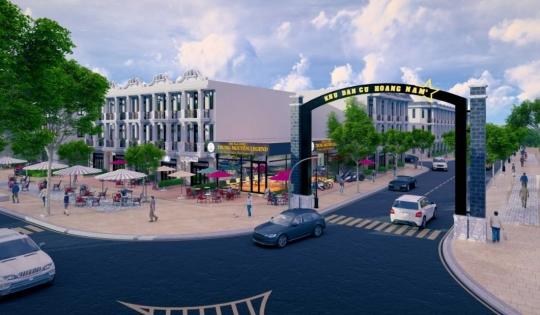 BIDV hỗ trợ cho vay mua nhà dự án Khu nhà ở thương mại Hoàng Nam 5